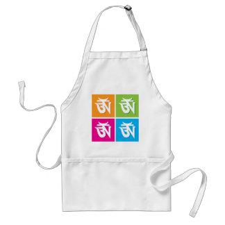 OM hindú propicio/símbolo de Aum Delantal