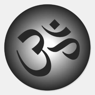 OM hindú - símbolo de la meditación Pegatinas