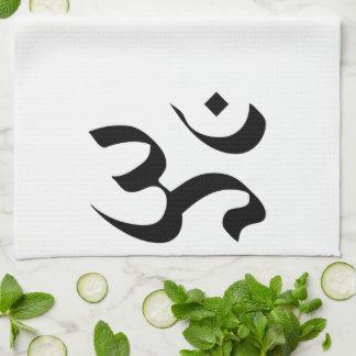 Om in Sanskrit Hand Towel