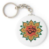Om Key Chains