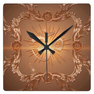 OM la muestra Reloj Cuadrado