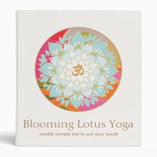 OM Lotus Mandala Yoga and Meditation Teacher Binder