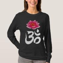 OM Lotus reverse T-Shirt