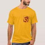 OM Lotus Symbol Spirituality Yoga  peace t-shirt