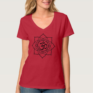 """Om Lotus Tee"" T-Shirt"