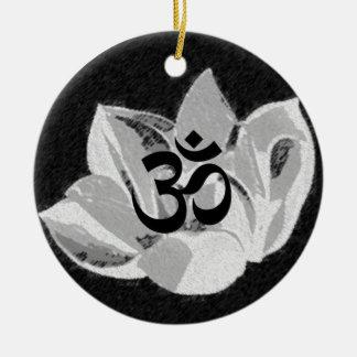 Om Lotus - Yoga Ornament