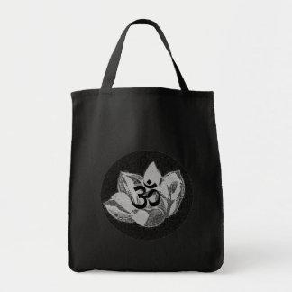Om Lotus - Yoga Tote Bag