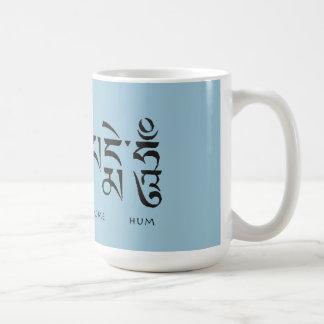 OM MAI PADME HUM COFFEE MUG