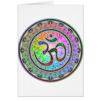 OM-mandala Card