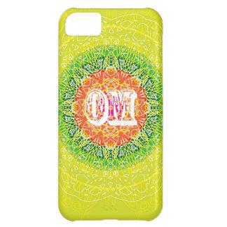 Om Mandala Design for Yoga Cover For iPhone 5C