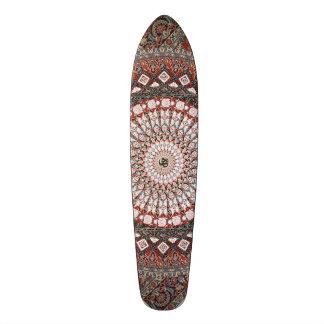 Om Mandala Custom Skateboard