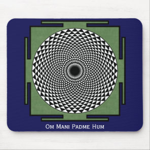 Om Mani Padme Hum chant Mouse Pad