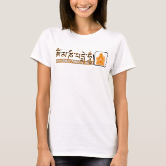 Om mani padme hum Chenrezig T-Shirt