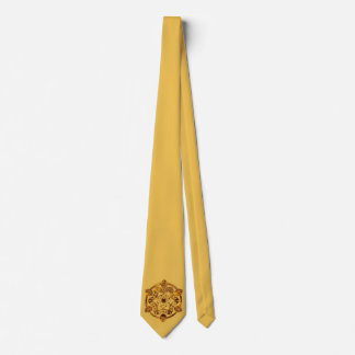 Om Mani Padme Hum - Golden Mandala Tie