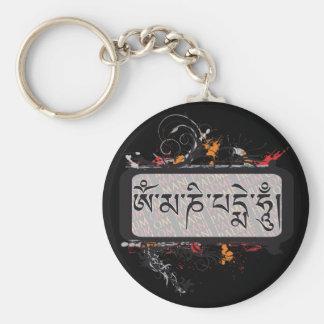 Om Mani Padme Hum Grubge Key Chains