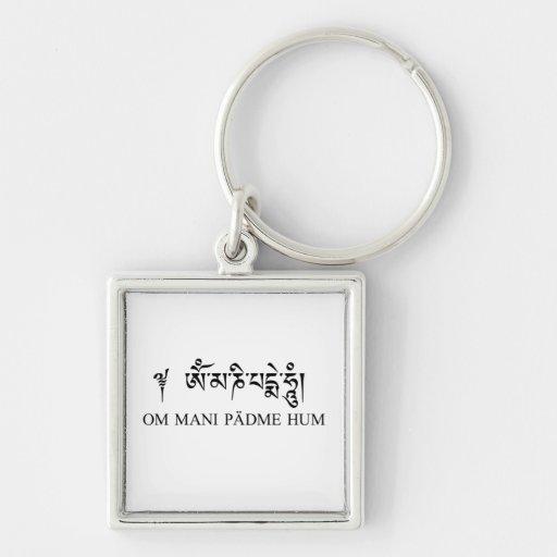 Om Mani Padme Hum Key Chain