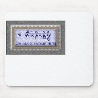 Om Mani Padme Hum Mouse Pad