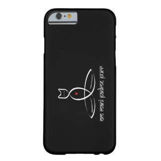 Om Mani Padme Purr - Sanskrit style text. Barely There iPhone 6 Case