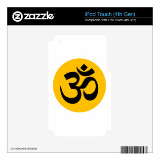Om Mantra Aum Yoga Art iPod Touch 4G Skin