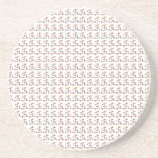 om mantra  designs pattern 2016 drink coaster