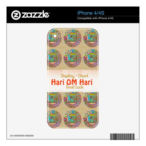 OM Mantra : Encouraging Display and Chanting iPhone 4S Skin