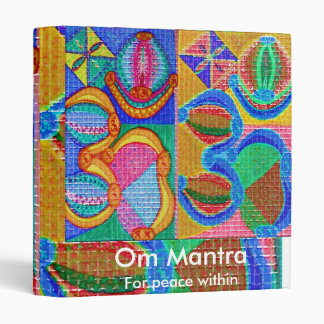 OM MANTRA - for peace within Binder