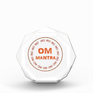 OM MANTRA Gifts by Navin Joshi Acrylic Award