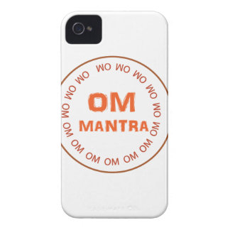 OM MANTRA Gifts by Navin Joshi iPhone 4 Cover