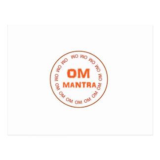 OM MANTRA Gifts by Navin Joshi Postcard
