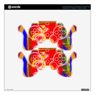 Om Mantra Glow Decal For PS3 Controller