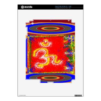 Om Mantra Glow Skins For iPad 2