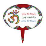 OM Mantra  HappyBirthday OMMANTRA Cake Pick