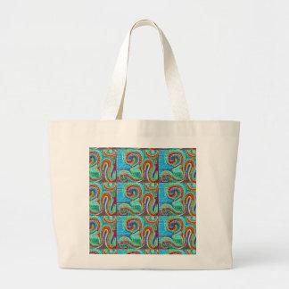 OM MANTRA Infinity - Display Meditate Chant Yoga Tote Bags