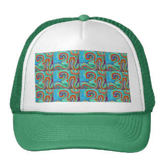 OM MANTRA Infinity - Display Meditate Chant Yoga Mesh Hat