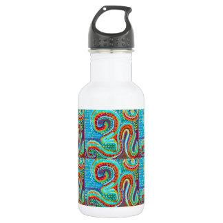 OM MANTRA Infinity - Display Meditate Chant Yoga Water Bottle