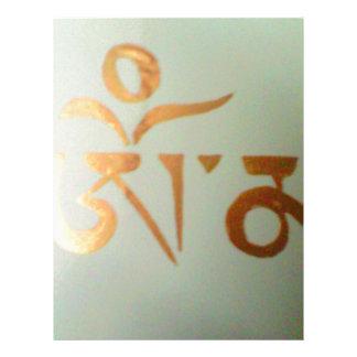 om mantra letterhead