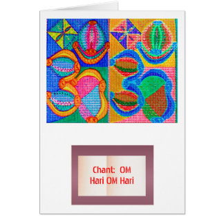 OM Mantra Matrix : Display n Give away use only Card