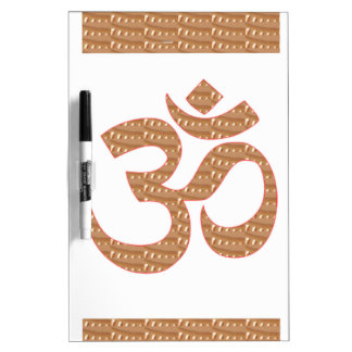 OM MANTRA OmMANTRA Chant Display Heal Peace Dry-Erase Boards