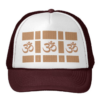 OM MANTRA OmMANTRA Chant Display Heal Peace Trucker Hat