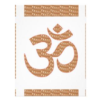 OM MANTRA OmMANTRA Chant Display Heal Peace Letterhead Design