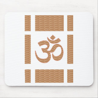 OM MANTRA OmMANTRA Chant Display Heal Peace Mousepads