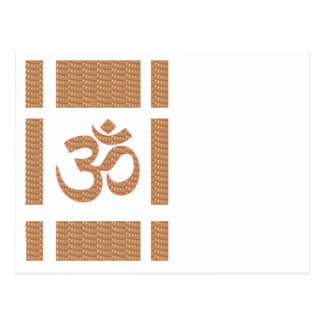 OM MANTRA OmMANTRA Chant Display Heal Peace Postcard