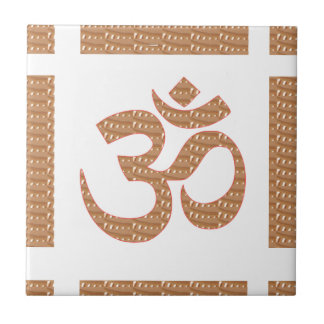 OM MANTRA OmMANTRA Chant Display Heal Peace Tiles
