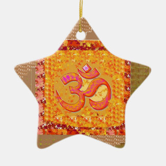 OM Mantra OmMANTRA Chant Yoga Meditation HEALTH Christmas Ornament