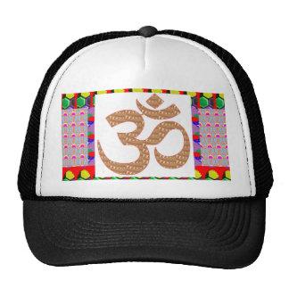 OM Mantra OMmantra on Pocket Hinduism Yoga Teacher Trucker Hat