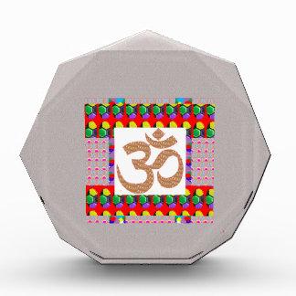 OM Mantra OmMANTRA Yoga Meditation Symbol Hinduism Awards