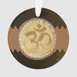 Om mantra spiritual Hinduism symbol slogan Ornament