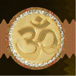 OM MANTRA Spiritual Yoga Meditation Chant Cutout