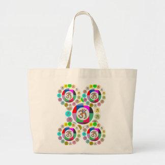 OM Mantra Symbol Chant n Meditate OM HARI OM Canvas Bag