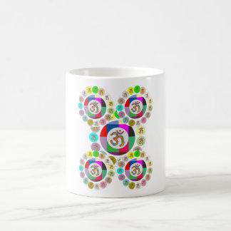 """OM Mantra Symbol : Chant n Meditate """"OM HARI OM"""" Mugs"""